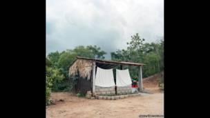 Clase de la Escuela Elemental Guadalupe Victoria en la comunidad rural de Costa, región de Oaxaca