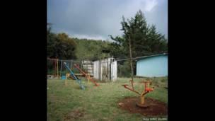 Jardín de infancia en Michoacán
