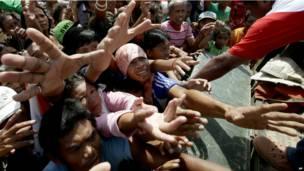 फिलीपींस, तूफ़ान