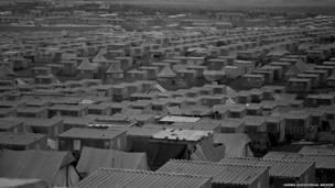 Campo nuevo de Amán en 1971