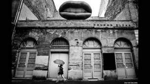 أنقاض إحدى أشهر الحانات في مدينة بودابدست بالمجر