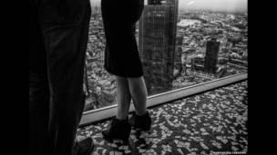 نظرة على مدينة لندن من مبنى مرتفع