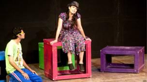 नाटक, लक्ष्मी पूजन, एनसीपीए फ़ेस्टिवल, मनोज शाह का निर्देशन,