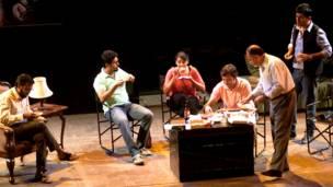 रोप, अंग्रेजी का नाटक, पैट्रिक हैमिल्टन, एनसीपीए,