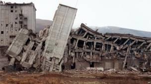 Развалины Спитака
