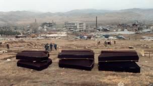 Гробы в Спитаке