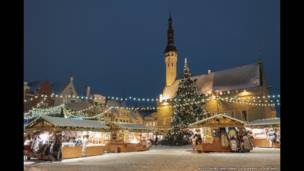 بازارچه کریسمسی در استونی از ریستو هانت
