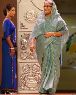 बांग्लादेश की प्रधानमंत्री शेख हसीना वाजेद, गेटी इमेज्स