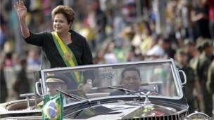 Brezilya Cumhurbaşkanı Dilma Rousseff. Reuters