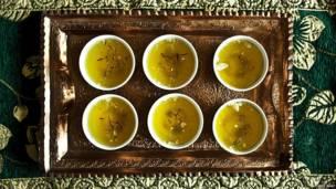 teh saffron Kashmir