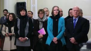 اعضای هیات پارلمانی اروپا در تهران