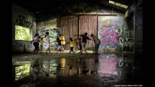 کلوپ اسکیت بورد کلکته در  هند