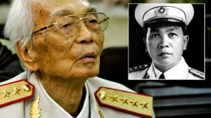 General Vo Nguyen Giap. AP
