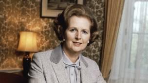Margaret Thatcher. AP