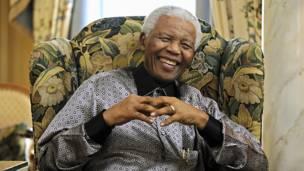 Nelson Mandela. AFP