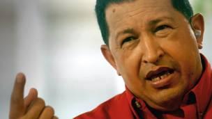 Hugo Chavez. AFP