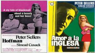 Afiche de Amor a la inglesa. Editorial Notorious