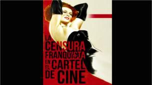 """Portada del libro """"La censura franquista en el cartel de cine"""". Editorial Notorious"""