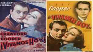"""Afiche de la película """"Vivamos hoy"""". Editorial Notorious."""