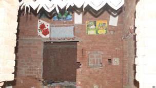 कुटबा गाँव के खाली मकान