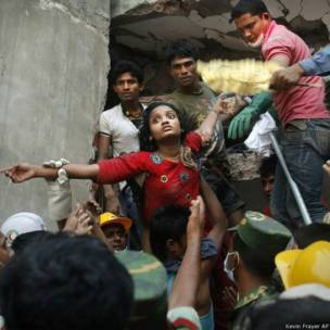 बांग्लादेश, इमारत हादसा