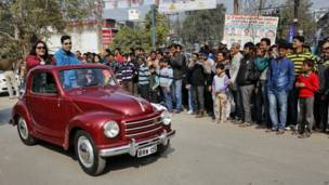 इलाहाबाद में विंटेज कार रैली