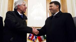 هیأت پارلمانی بریتانیا در ایران