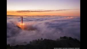 جسر البوابة الذهبية في سان فرانسيسكو، ميشيل بينيت