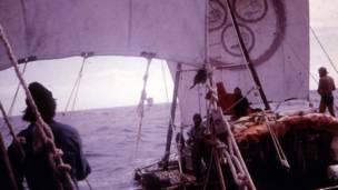 Grupo, que fez a viagem em 1973, queria provar que civilizações antigas poderiam ter viajado entre América do Sul e Austrália.