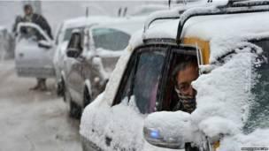 पाकिस्तान, बर्फ़बारी, सर्दियाँ