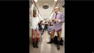 В лондонском метро