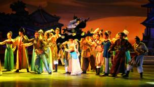 圖輯:《絲路花雨》大型舞劇倫敦巡演