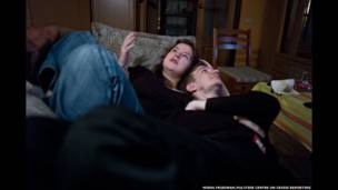 Константин Голава с подругой, ЛГБТ-активисткой