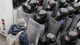 сутички в Києві