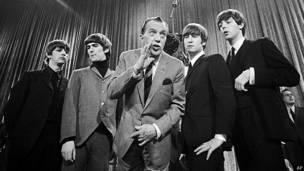 Los Beatles con Ed Sullivan