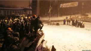 сутички у Києві, Грушевського