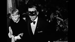 फ्रैंक सिनात्रा और मिया फेरो, न्यूयॉर्क, 1966