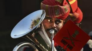 Orkes musik tentara India