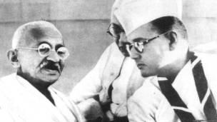 सुभाषचंद्र बोस, महात्मा गांधी