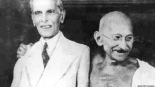 मोहम्मद अली जिन्ना और महात्मा गांधी