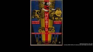 Obras ousadas com cores vivas eram populares na década de 1920
