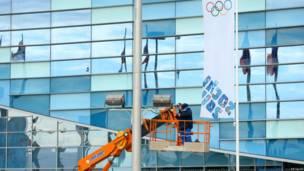 Persiapan Sochi