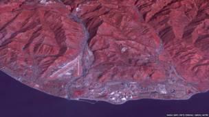صورة التقطتها ناسا لمدينة سوتشي الروسية