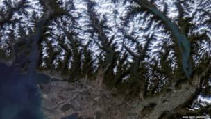 Ванкувер, Канада. Фото: NASA Earth Observatory