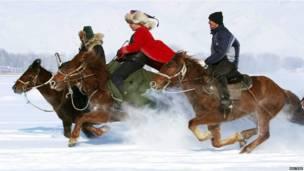 चीन, घुड़सवारी