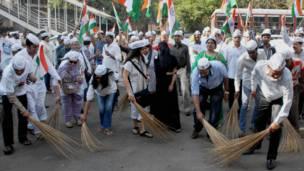 आम आदमी पार्टी के समर्थक, मुंबई