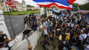थाईलैंड, सरकार विरोधी प्रदर्शन