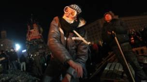 यूक्रेन में प्रदर्शन