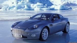 Aston Martin V12, London film museum