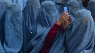 अफ़ग़ानिस्तान चुनावी रैली